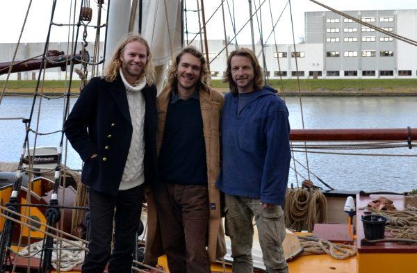 Drei Männer, eine Idee.