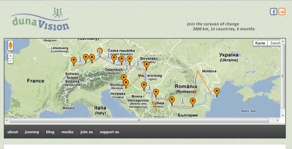 Auf geht's: Die Donau-Karawane zieht los