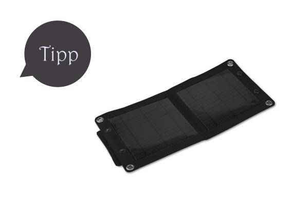 EasyAcc Solar-Aufladegerät
