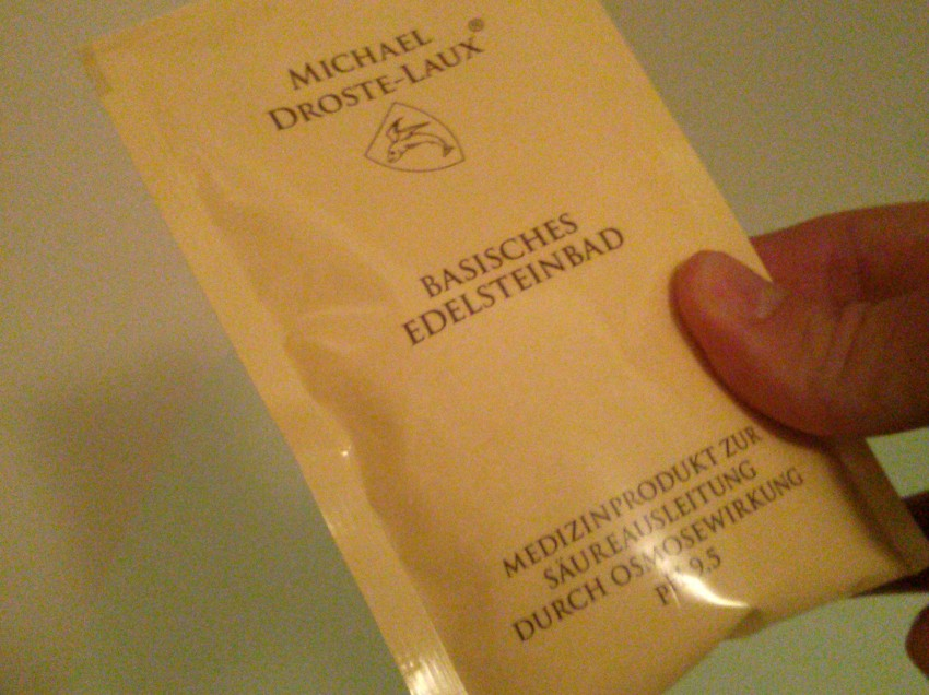 Basisches Edelsteinbad – Ein Selbstversuch