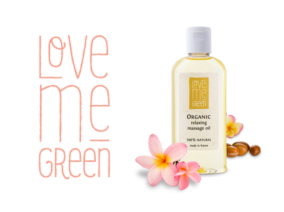 Love Me Green Organic Relaxing Massage Oil
