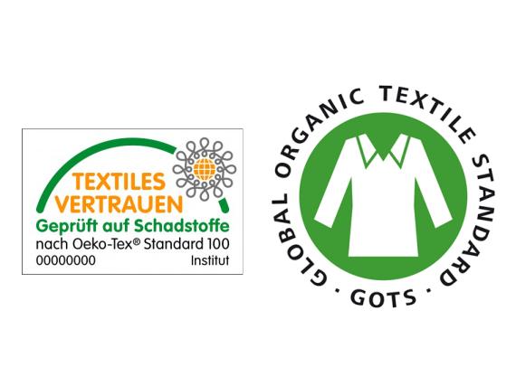 Good to know – der Unterschied zwischen den Textilstandards Oeko-Tex 100 und GOTS