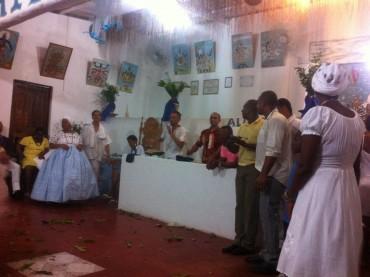 Wie in Trance: Bei einer afro-brasilianischen Kult-Zeremonie in Salvador
