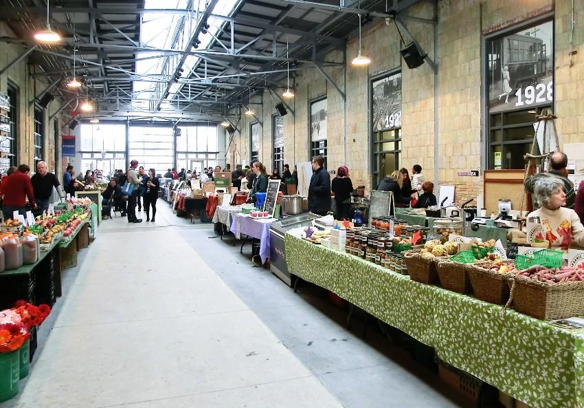Grün im großen weißen Norden – Wychwood Farmer's Market