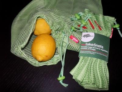 again & a-gain – eine Alternative zu Einwegtaschen im Obst- und Gemüsebereich
