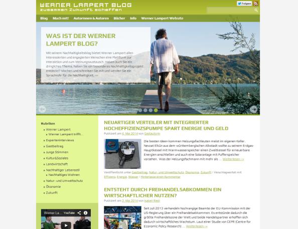 Blogvorstellung: Werner Lampert Blog