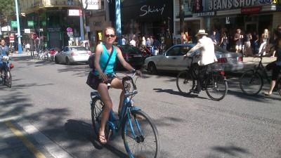 Mit dem Rad durch die Stadt: Interview mit einer passionierten Radfahrerin