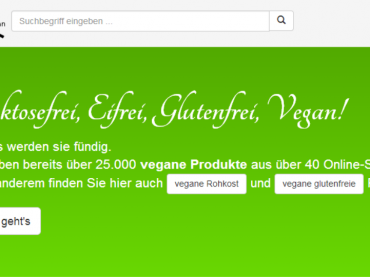 Google für Veganer: vegansuche.de