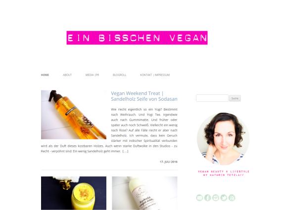 Blogvorstellung: ein bisschen vegan