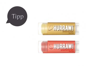Hurraw! Lippenpflege: Organic, vegan & raw