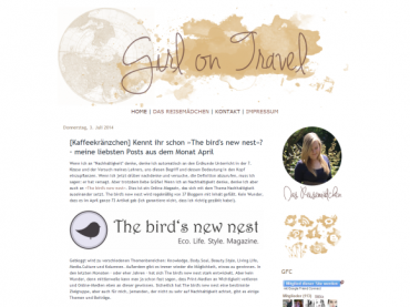 The bird's new nest: Review April 2014