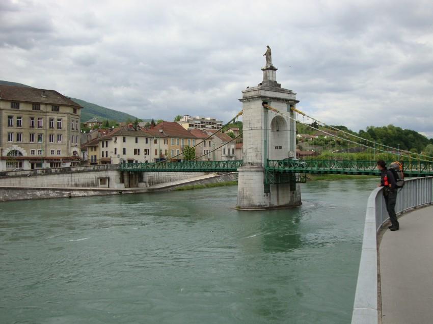 Wieder auf dem Jakobsweg: Tag 3, Pont du Fier