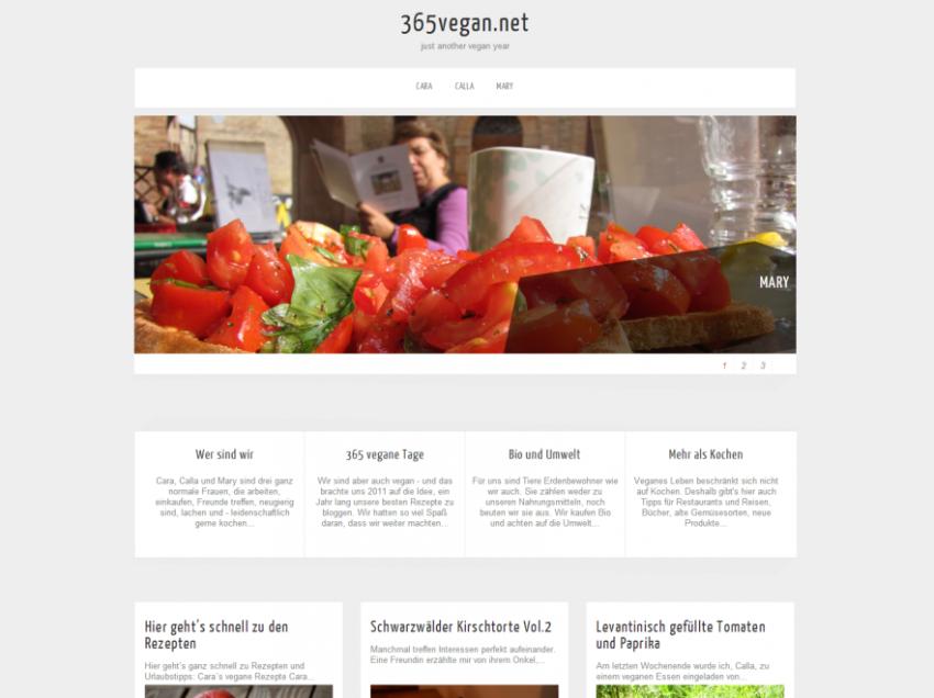 Blogvorstellung: 365vegan.net – mit Rezept für Sobanudeln mit grünen Bohnen und Zucchini-Mandel-Krusteln
