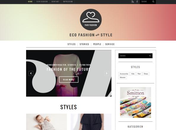 Blogvorstellung: Fair-Fashion.net – Eco Fashion with Style