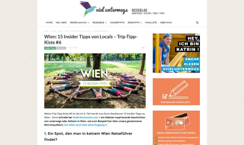 Doris verrät 15 Insider-Tipps für Wien