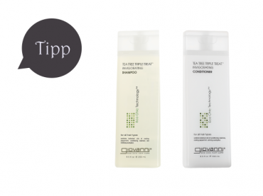 Giovanni Eco Chic Cosmetics Tea Tree Triple Treat – DAS Haar-Erlebnis
