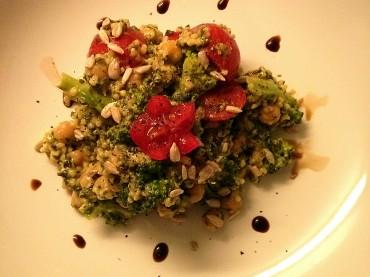 Veganer Hirse-Salat – auch To-Go