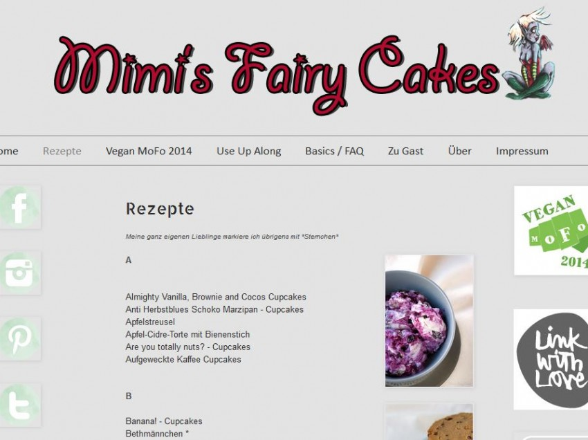 Blogvorstellung: Mimi's Fairy Cakes