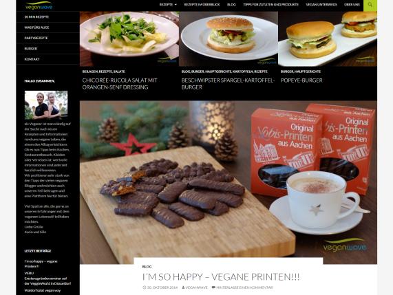 Blogvorstellung: Veganwave (Rezept für Moussaka inside!)