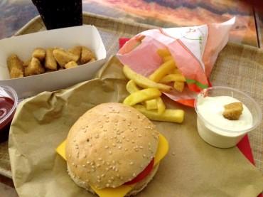 front food: Fast Food-Restaurant des 21. Jahrhunderts in Linz