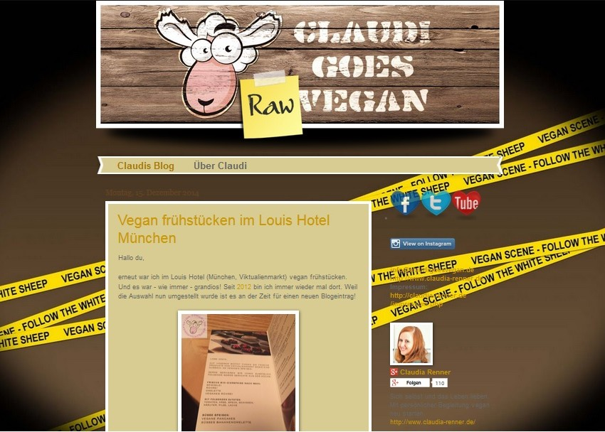 Blogvorstellung: ClaudiGoesVegan oder die Tortilla, die etwas anderes werden wollte (mit Rezept!)