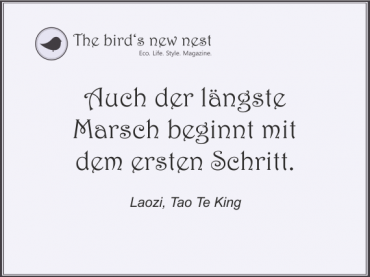 Tägliche Inspiration auf The bird's new nest