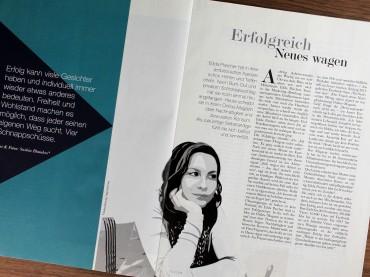 Erfolgreich Neues wagen: Porträt im Wiener Journal