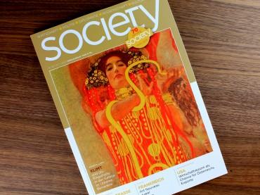 Der frühe Vogel: Interview im Magazin SOCIETY