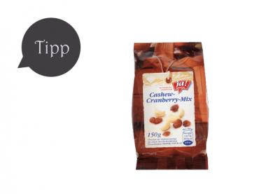 Cashew-Cranberry-Mix von Ja! Natürlich