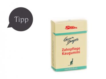 Styrums Green Drops Teebaumöl Zahnpflege Kaugummi