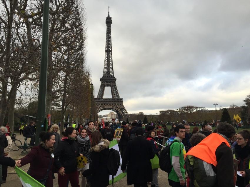 Mit Global2000 bei der Klimakonferenz COP21 in Paris