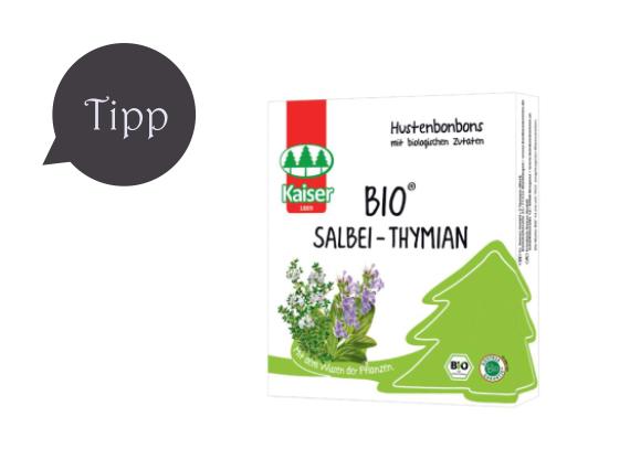 Kaiser Bio Salbei-Thymian Hustenbonbons