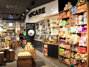 LUSH Shop-Eröffnung im Donau Zentrum: Impressionen