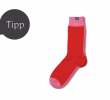 MINGA BERLIN Eco Fashion Socken in TWO FACE Bubblegum Fiesta