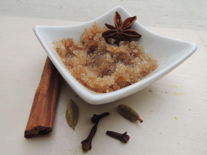 DIY vegane Naturkosmetik: Gingerbread Bodyscrub