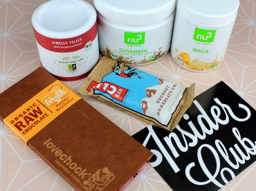 nu3 Insider Club: Vegan Treat Box März 2016