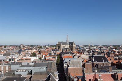 Haarlem von oben. Foto ©wingsaregolden.com