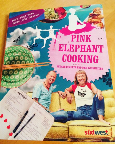 pink elephant cooking cover