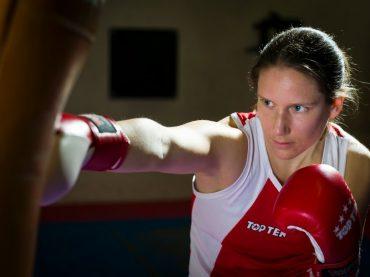 Im Interview: Melanie Fraunschiel, vegane olympische Boxerin