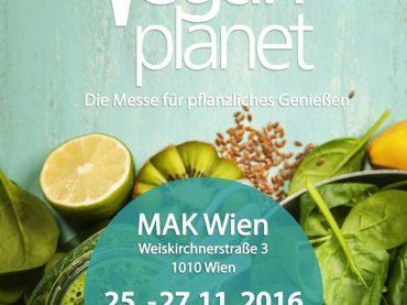 Auf der Vegan Planet 2016 in Wien!