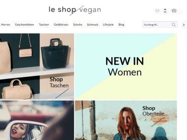 #xmaschallenge: Le Shop Vegan – Riesige Auswahl an veganen Taschen und Fair Fashion