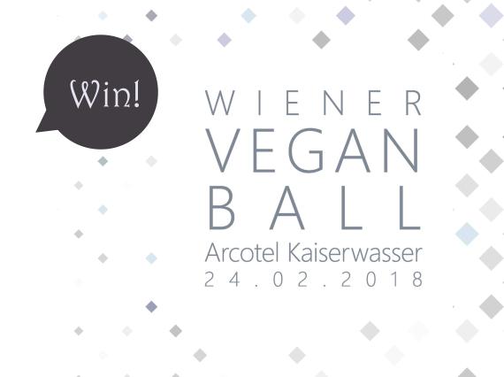 Give-Away! Gewinnt 2 Mal 2 Karten für den Wiener Vegan Ball 2018!