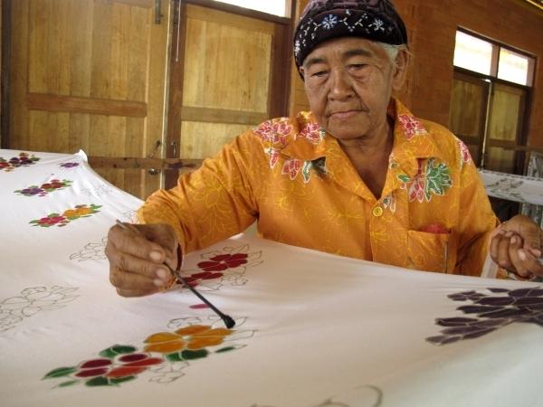 Ikone der Patae-Herstellung. Foto: Doris