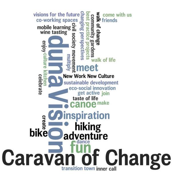Wandern, Spaß, Nachhaltigkeit, Vernetzung, Lernen, ... dunaVision ist vieles.