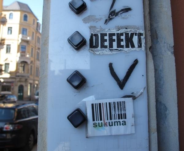 Nein, die Klingel ist nicht defekt. Sukuma Vereinshaus. Foto: Doris
