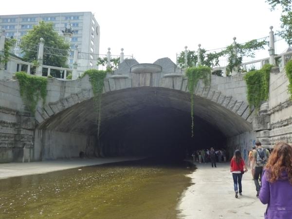 Am Wienfluss befindet sich das längste Kanalisationssystem der Welt. Foto: Doris