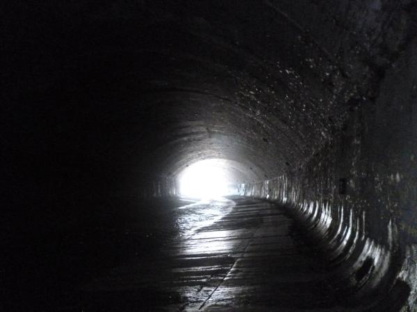 Ein Licht am Ende des Tunnels. Foto: Doris