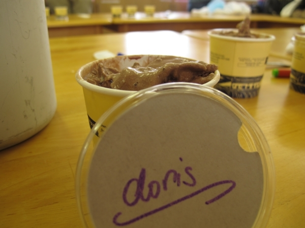 Alles meins: Selbstgemachtes Eis. Foto: Doris