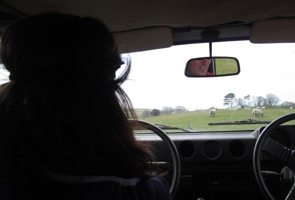 Stattdessen: Reverse Jeep Driving - ausprobieren. Foto: Doris
