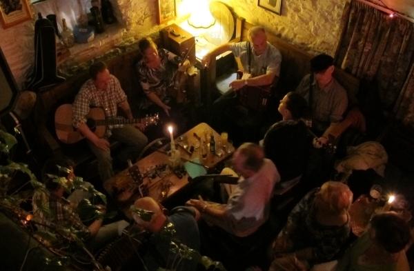 Irland ist voller Musik - zumindest in Clonakilty. Foto: Doris
